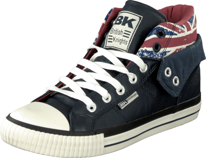 449db33b Kup British Knights Roco Navy/Union Jack/Burgundy niebieskie Buty ...