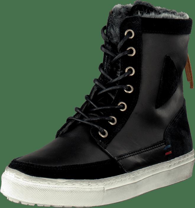 Mid Sko Black Le Sportif Kjøp Ancelina Sorte Online Plus Sneakers Coq Leather HgZnIqwn