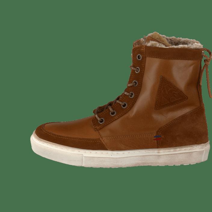 Mid Bread Ancelina Ginger Sportsko Le Og Coq Online Plus Sportif Sko Brune Sneakers Kjøp Leather UgIqag