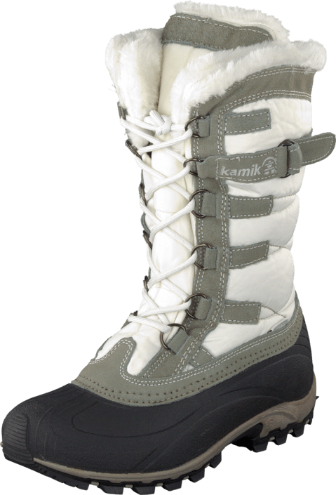 Osta Kamik Snowvalley White Harmaat Kengät Online  53159eb603