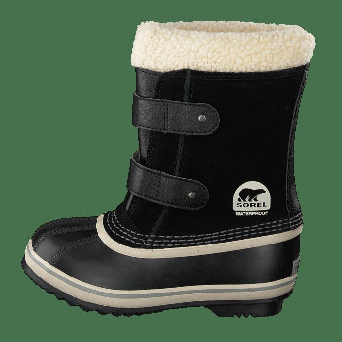 super billigt erbjuda rabatter ganska trevligt Buy Sorel Childrens 1964 Pac Strap Black Shoes Online | FOOTWAY.co.uk