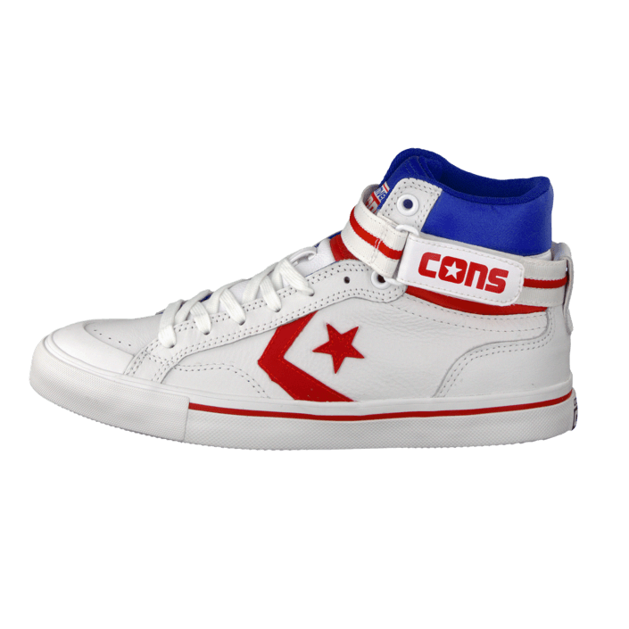 d4da20a6f1dd Buy Converse Pro Blaze Plus Leather Hi White Red Blue white Shoes Online