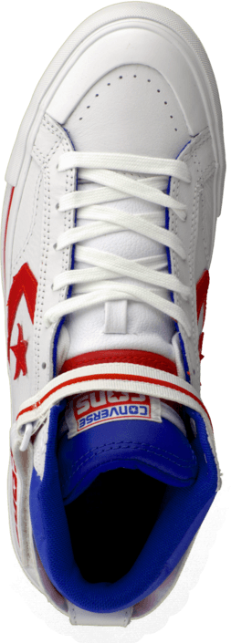 c636e3c4caa1 Buy Converse Pro Blaze Plus Leather Hi White Red Blue white Shoes ...