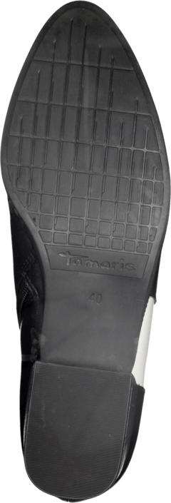 Black Online Grå 25062 1 white Kjøp 1 Sko 33 Boots Tamaris qXaw6zx4