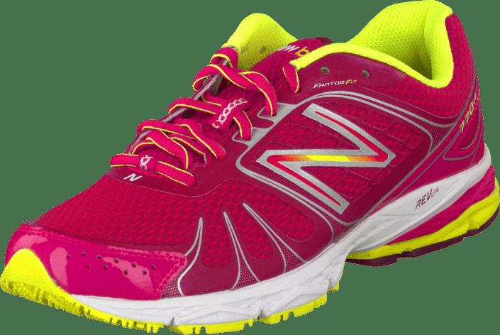 Sko Pink Rosa W770mp4 yellow Kjøp Sneakers New Online Balance qXHwnYt