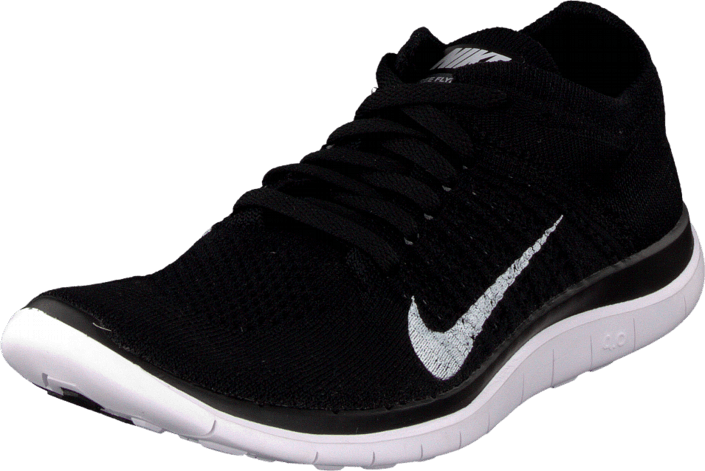 competitive price b9c50 f15a7 Nike - Nike Free 4.0 Flyknit Black White
