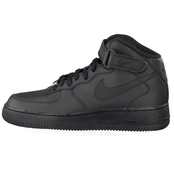 Air Force 1 Mid (Gs) Black