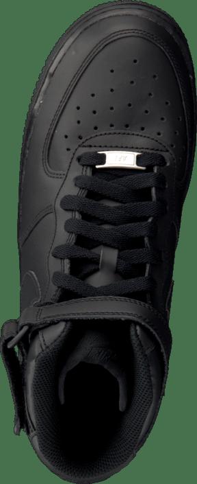 Air Force 1 Mid (Gs) Black