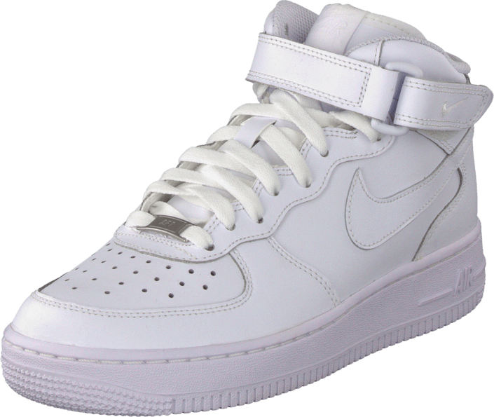 4be841ff615a Buy Nike Air Force 1 Mid (Gs) White white Shoes Online | FOOTWAY.co.uk