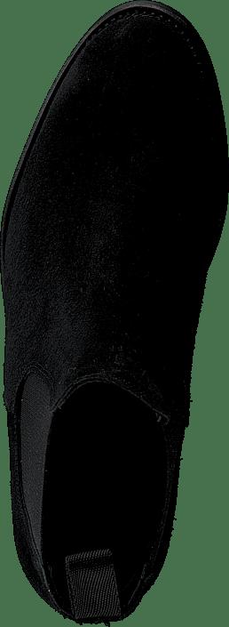 Ascot Maidenshead Low Black elastic