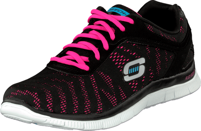 check out ca3e7 e8d39 Skechers - First glance Black pink