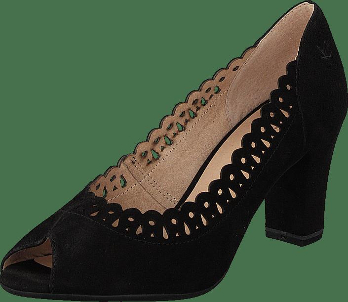 Caprice - Aretha Black Suede