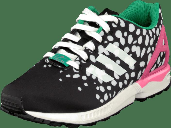 sports shoes 923cd 930a9 adidas Originals - Zx Flux W Core Black White Pink