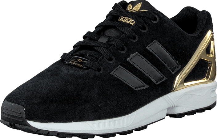 28d55b98f9e Buy adidas Originals Zx Flux W Core Black/Gold black Shoes Online ...