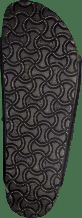 Birkenstock - Arizona Slim Leather Black Pyramid