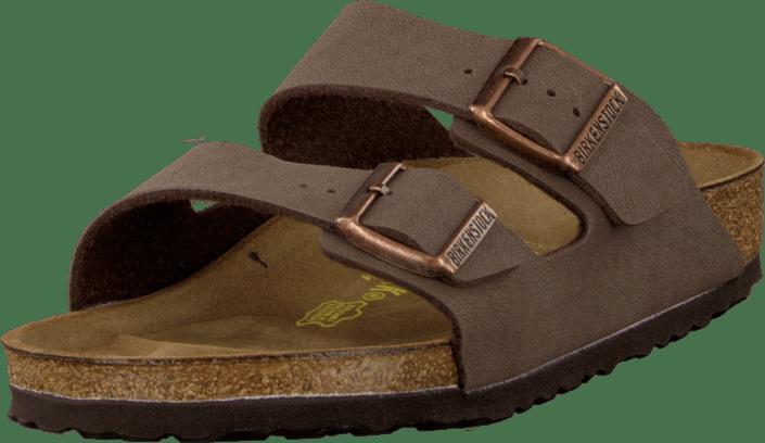 590bc9b23b59 Buy Birkenstock Arizona Regular Birko Flor Mocca Brown brown Shoes ...