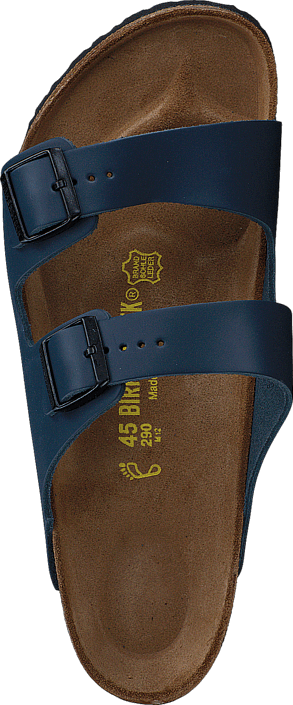 Birkenstock - Arizona Regular Leather Blue