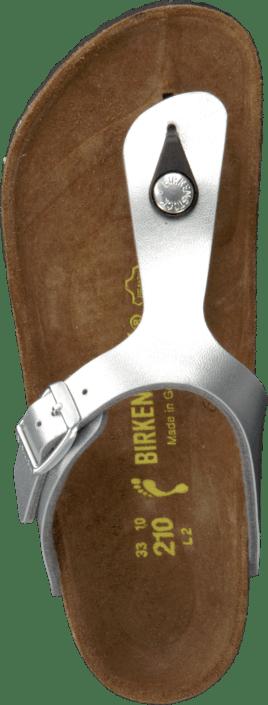 Birkenstock - Gizeh Slim Birkoflor Silver