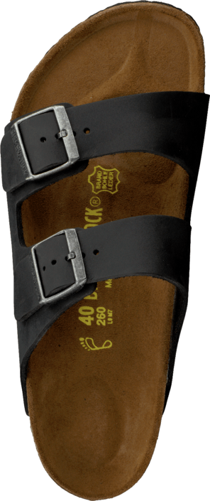 Arizona Regular Oiled Leather Black