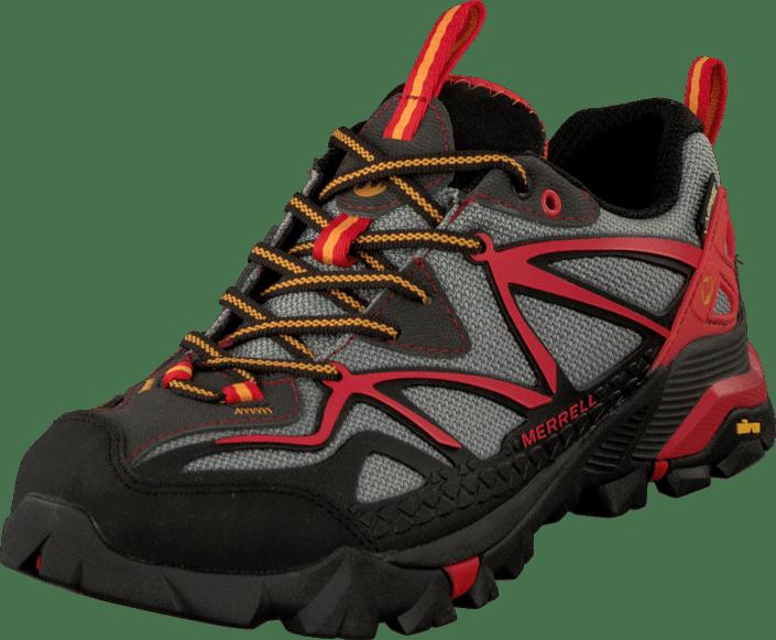 f462d9eb758 Buy Merrell Capra Sport Gtx Light Grey Red red Shoes Online ...