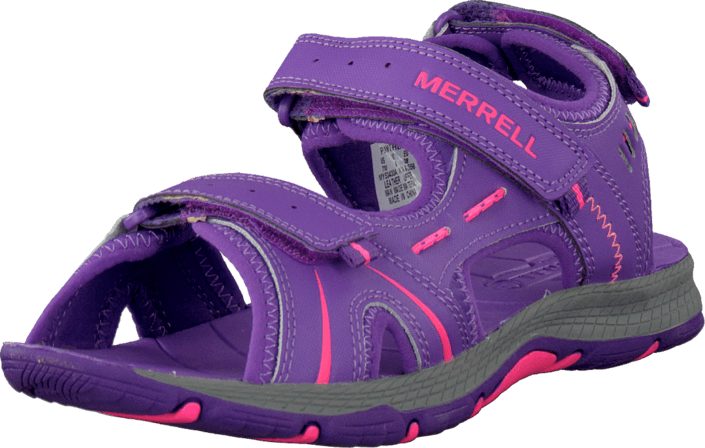 Merrell - Panther Sandal Purple/Coral