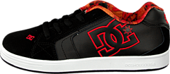 Kids Net Se Shoe Black/Red/White