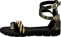 Kaya sandal Gold/black