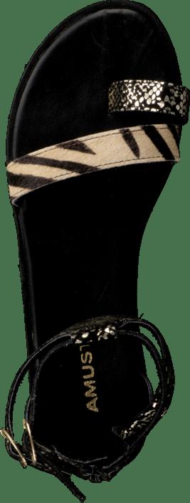 Kaya sandal Gold/black