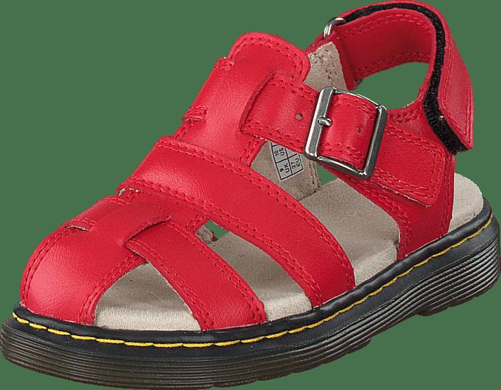 Dr Martens Moby röd bruna Skor Online