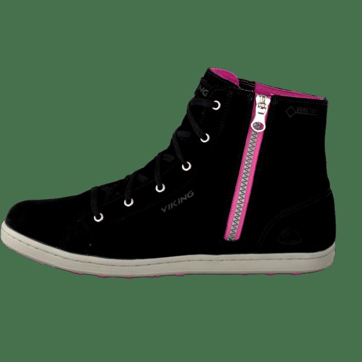 Acheter Viking Gjevjon Chaussures W Black/Dark Pink Noires Chaussures Gjevjon Online 402544