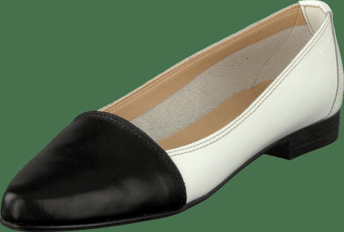 Esprit - Juno Toe Cap Black/White