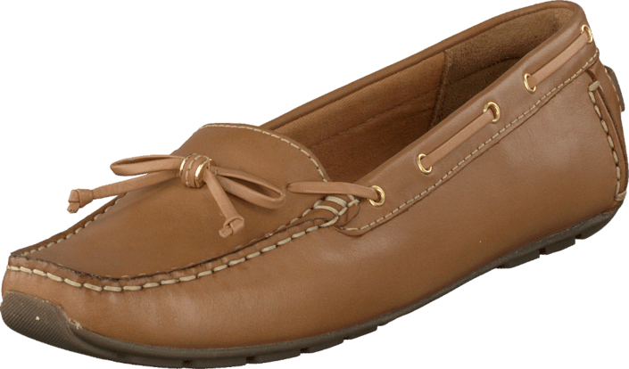 Clarks Dunbar Groove Tan Leather bruna Skor Online