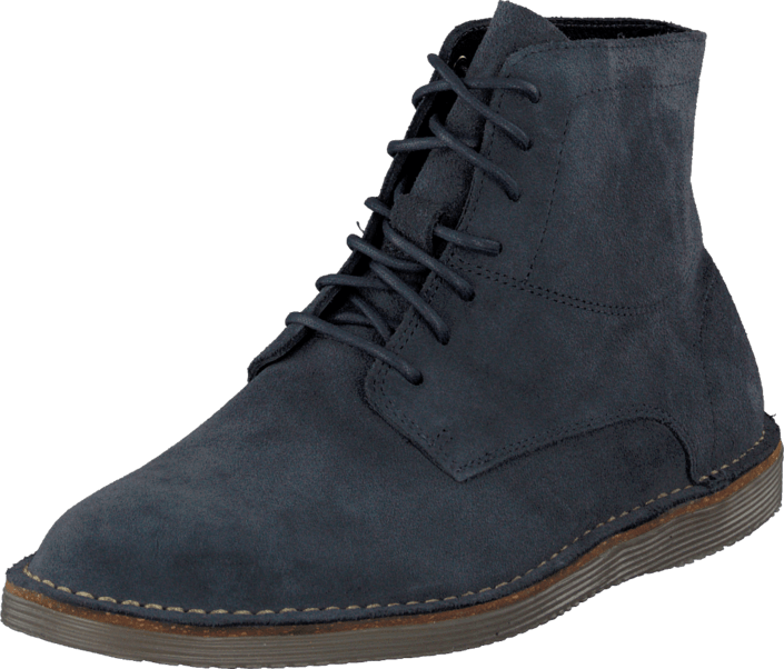 Clarks - Darning Top Dark Blue Suede