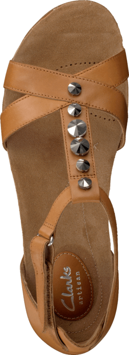 f721d8ce9 Buy Clarks Raffi Scent Tan Leather brown Shoes Online