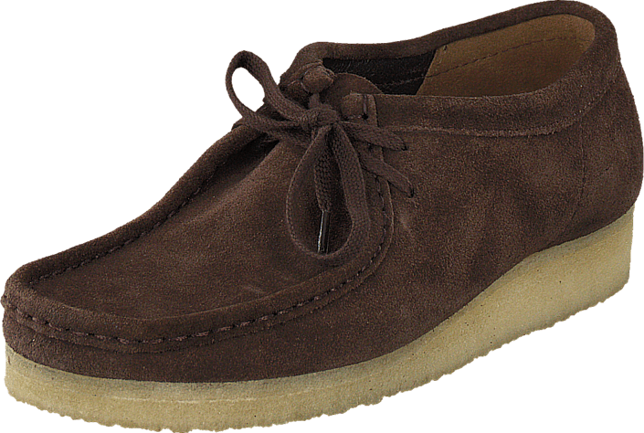 watch shop for genuine enjoy complimentary shipping Wallabee Dark Brown Suede