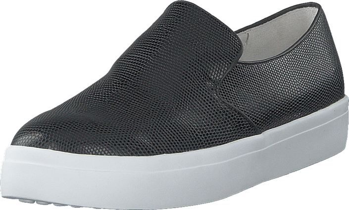 Yvonne 03 995 Black embrossed Reptile