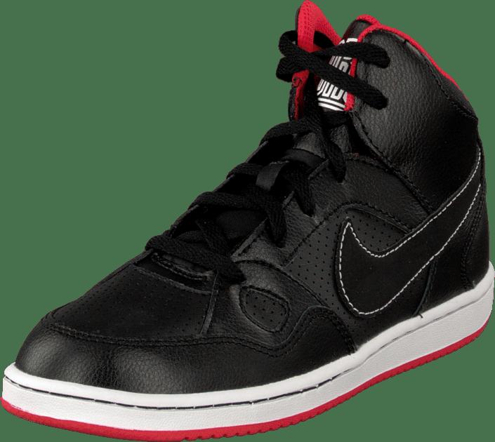 Buy Nike Son Of Force Mid (Ps) Black Black Black Shoes Online ... 8cf04924bfc
