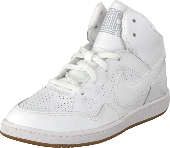 suelo Perforar Botánica  Son Of Force Mid (Ps) White/White | Footway