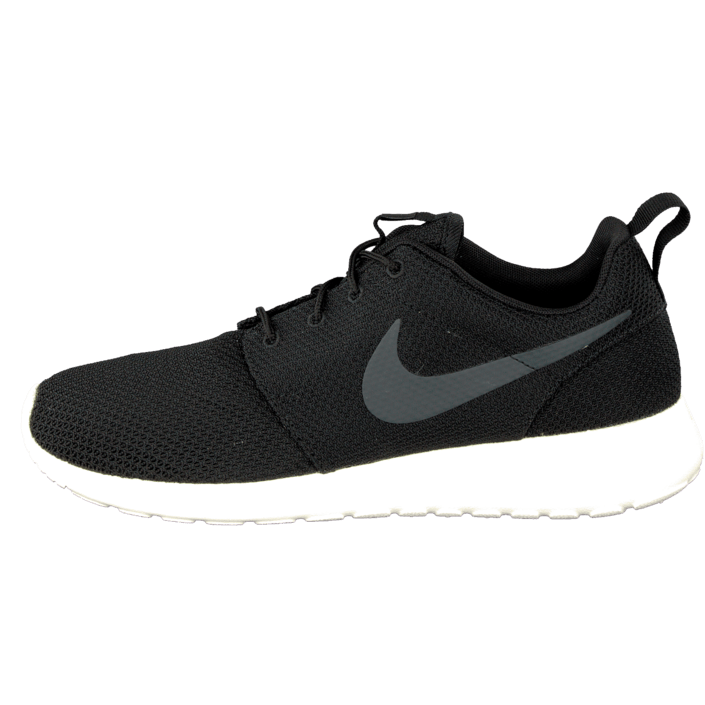 Køb Online Nike Roshe Two Herre og Dame Leather Sko Sort