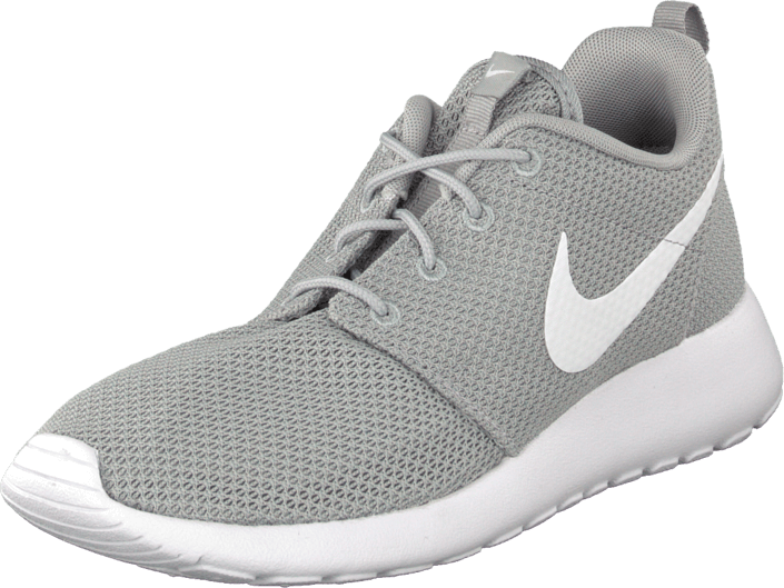 best service 2ec01 4c7a5 Nike - Nike Roshe Run Wolf Grey White