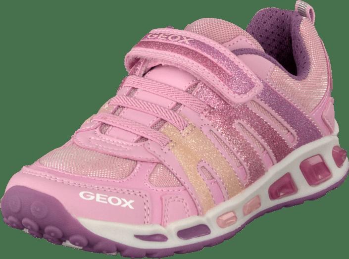 6d680a07e3e Köp Geox J Shuttle Girl Pink beige Skor Online   FOOTWAY.se