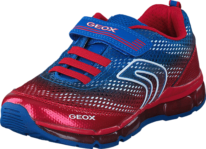 58217b6bb8e Buy Geox J Android Boy Royal/Red purple Shoes Online | FOOTWAY.co.uk