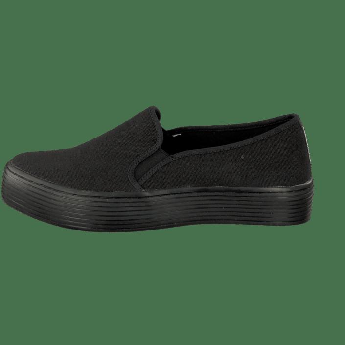 59148e39c161a1 Sixtyseven 76704 Kira Canvas Black schwarze Schuhe Kaufen Online ...