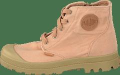 ece1b235450 Palladium - Pampa Hi Zipper Kids Salmon Pink