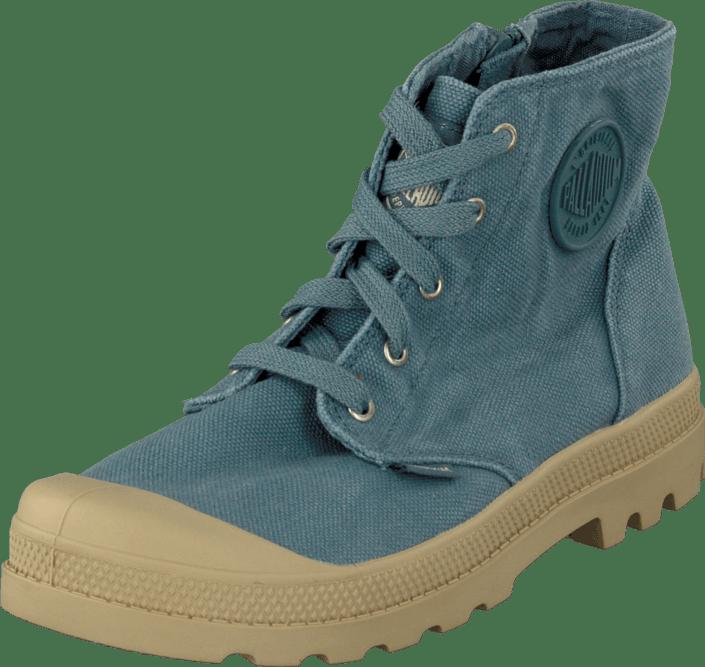 Palladium - Pampa Hi Zipper Kids Nordic Blue
