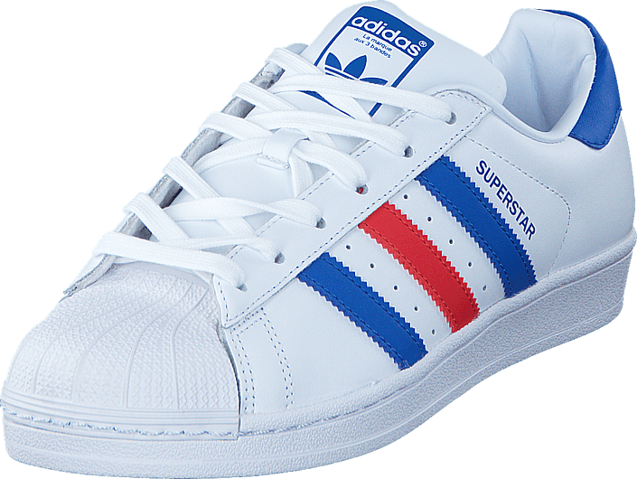 half off 5f692 7d824 adidas Originals - Superstar Ftwr White Blue Red