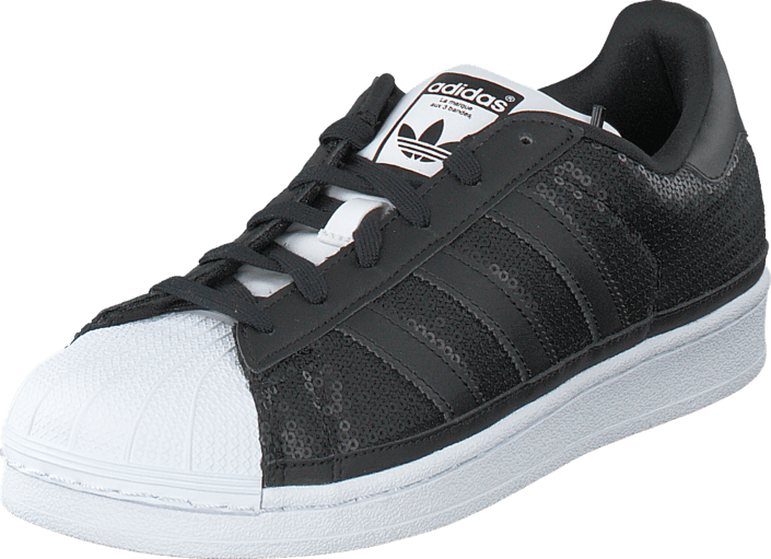 Buy adidas Originals Superstar W Core Black Ftwr White Black Shoes ... 2abad9535