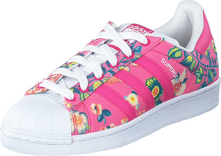 Kjøp adidas Originals Superstar W Ray PinkFtwr White Rosa