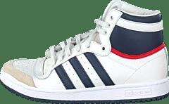 huge discount 606b5 cbe2f adidas Originals - Top Ten Hi Jr White New Navy Red