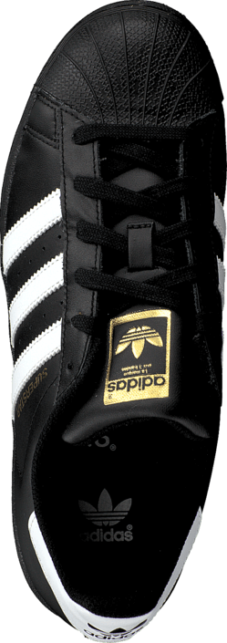 Køb adidas Originals Superstar Foundation Jr BlackWhite Sko